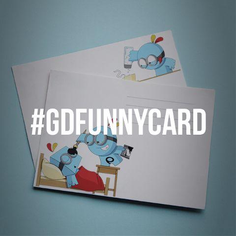 funny card graphic design contest