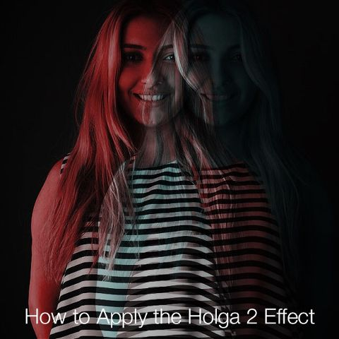How to use Holga Effect