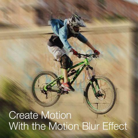 Motion Blur Photo Effect