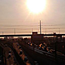 photography sun skyway city makati