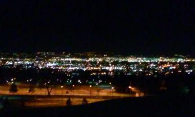 lights city night beautiful love