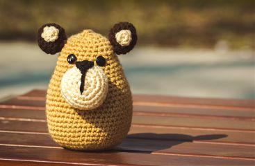 photography hobby crochet yarn animal