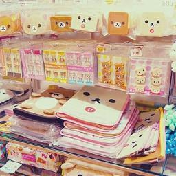 rilakkuma kawaii school supplies cute