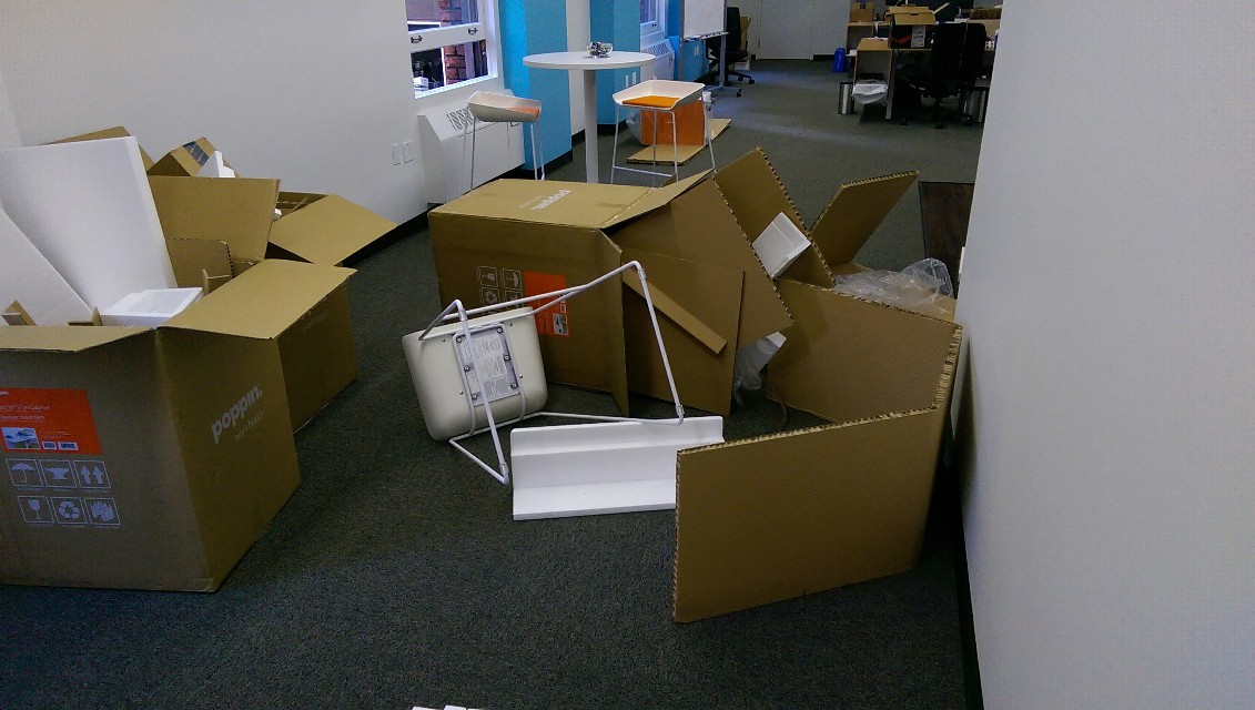 PicsArt's San Francisco office has been trashed overnight by unknown vandals. Details: www.ow.ly/L5c0R  Not exactly what any of us wanted to walk into this morning :/