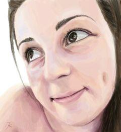 drawing digitaldrawing artisticselfie portrait selfie
