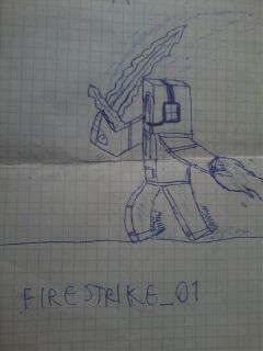 draw i minecraft firestrike_01 sword