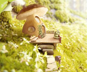 artwork photoshop littlehouse