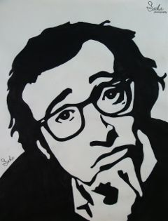 popart painting blackandwhite drawing art