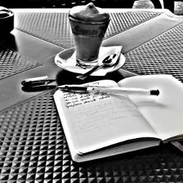 coffe blackandwhite writing adda rest