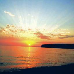 summer beach emotions nature sunset