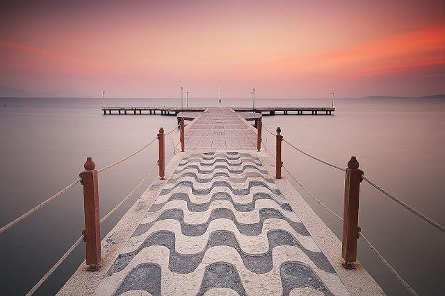 interesting pier dock sea imagine