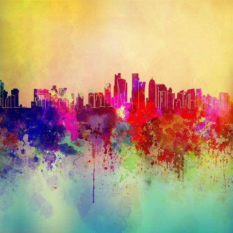art colorsplash interesting cityscape city