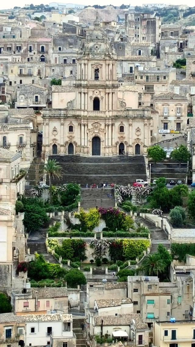 The one medieval church in Ragusa Ibla, Sicily.  #sicily  #ragusa  #italy