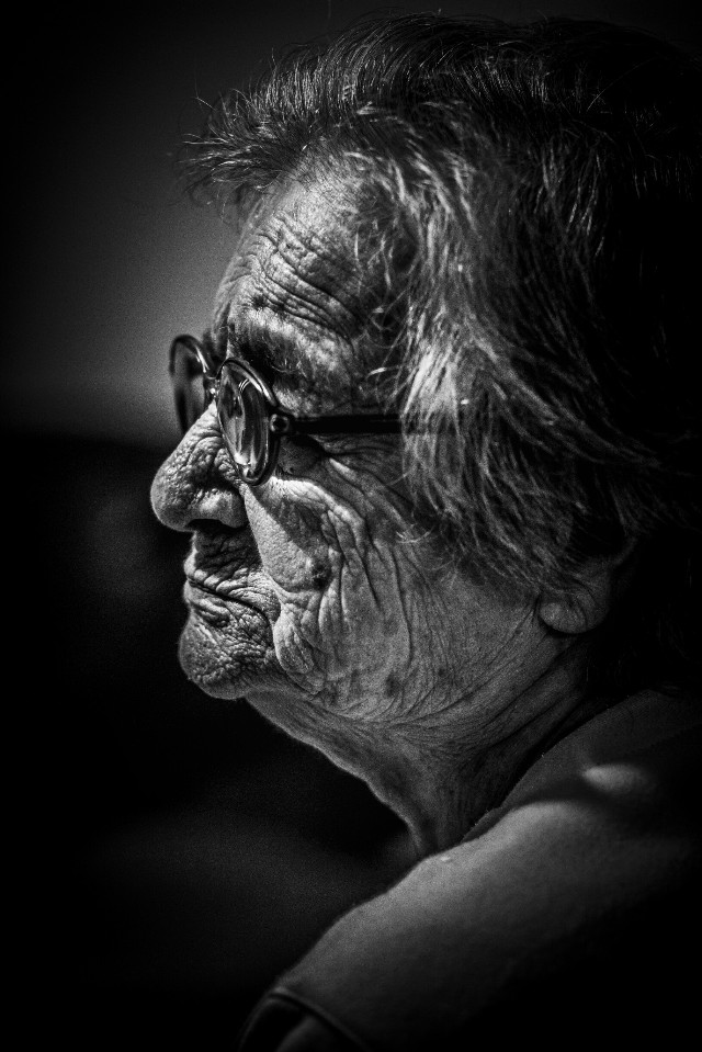 My great grama.....  #blackandwhite #emotions #love  #photography #people