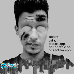 weird edited artistic doubleexposure beautypicsart