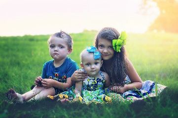 family cute popart summer photography