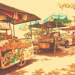vintage streetfood travel
