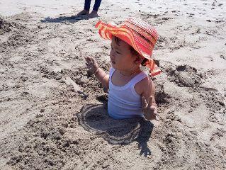 baby beach photography nature