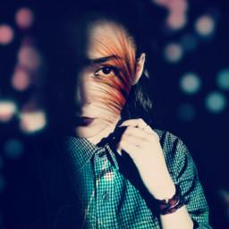 freetoedit beautifypicsart artisticselfie bokeh lightanddark colorsplash