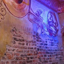 louisarmstrong neworleans jazz mural art