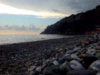 sea morning italy