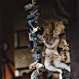 ornamental balconystyle angel photography