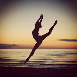 ballet ballerina dance twilight summer